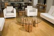 Clutch coffee table installation view