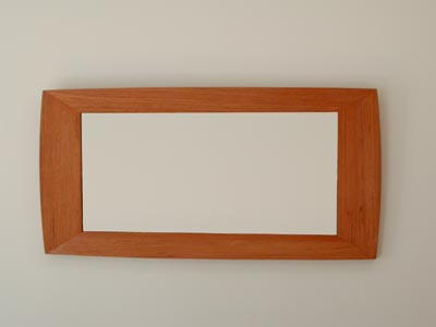 Widescreen mirror